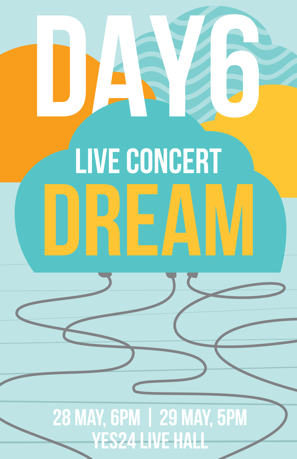 Day6 Gig Poster - image 3 - student project