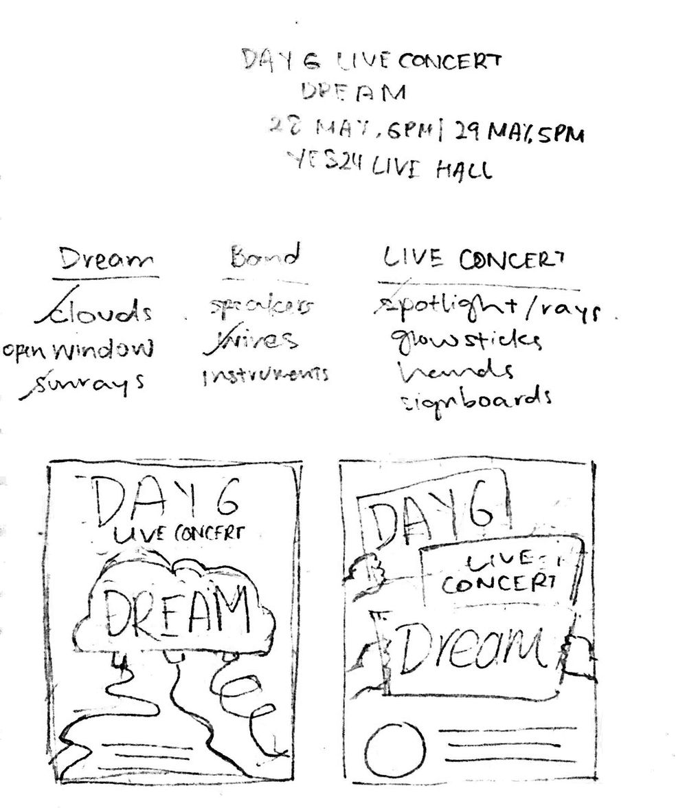 Day6 Gig Poster - image 1 - student project
