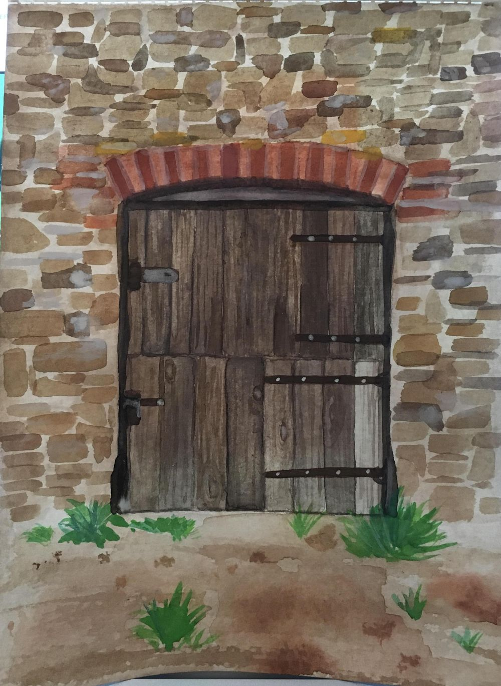 First Door - image 1 - student project