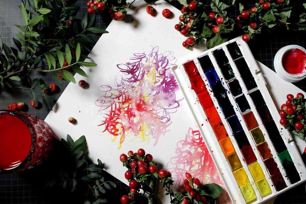 Dreamy Watercolors - image 1 - student project