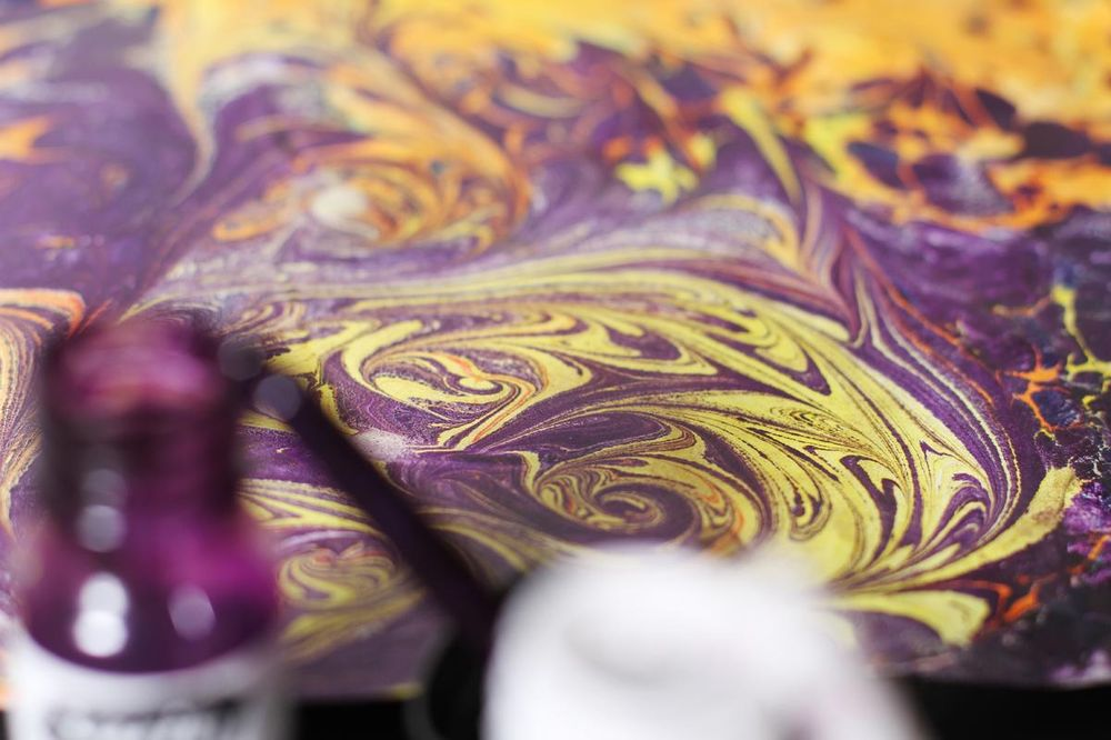 Paper Marbling Magic - image 1 - student project