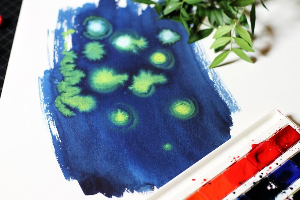 Dreamy Watercolors - image 4 - student project