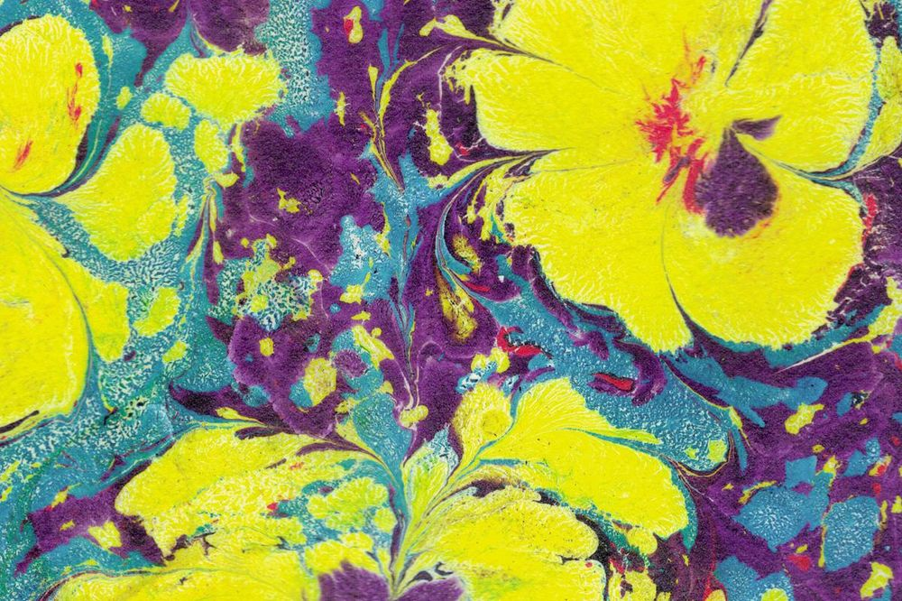 Paper Marbling Magic - image 3 - student project