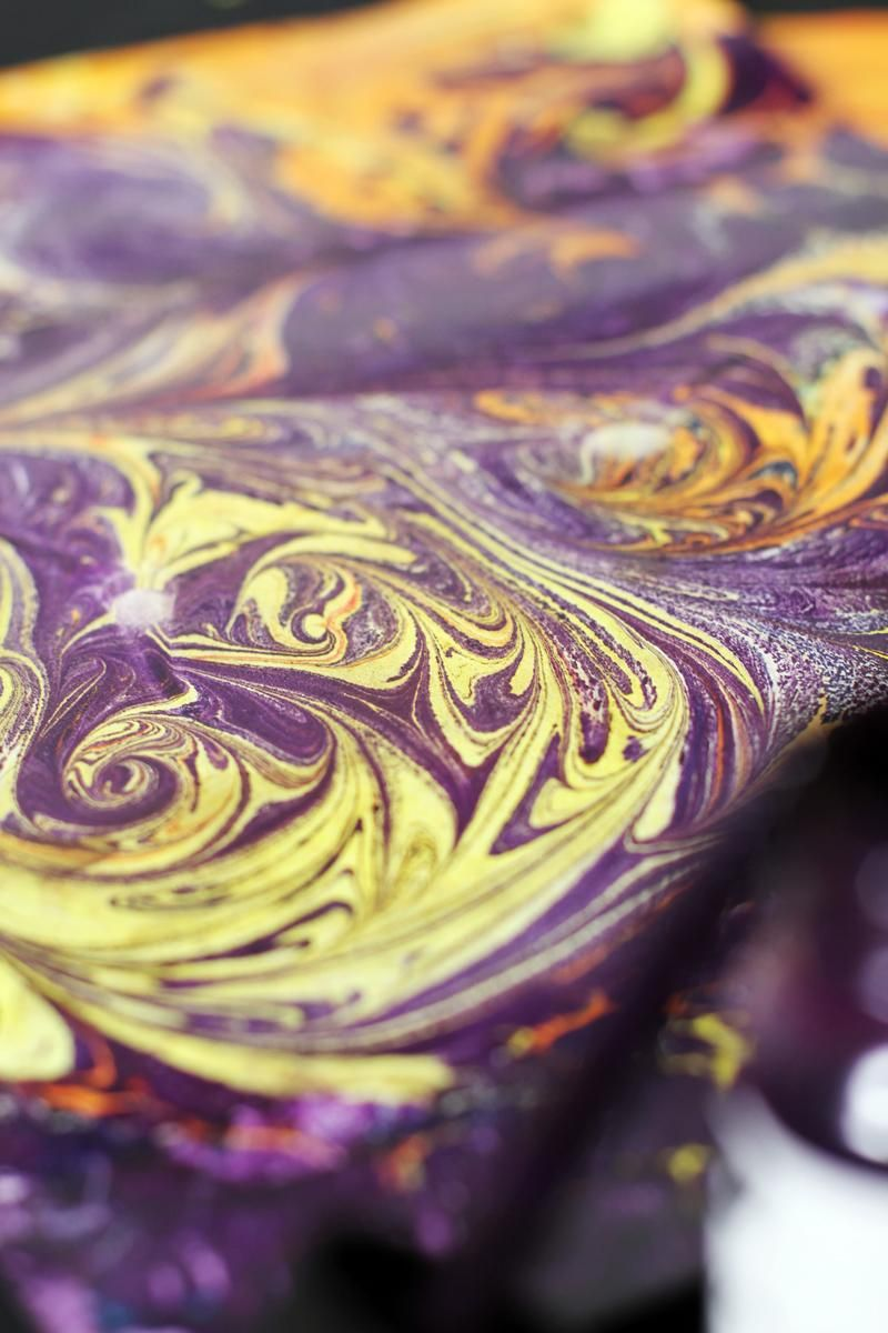 Paper Marbling Magic - image 6 - student project
