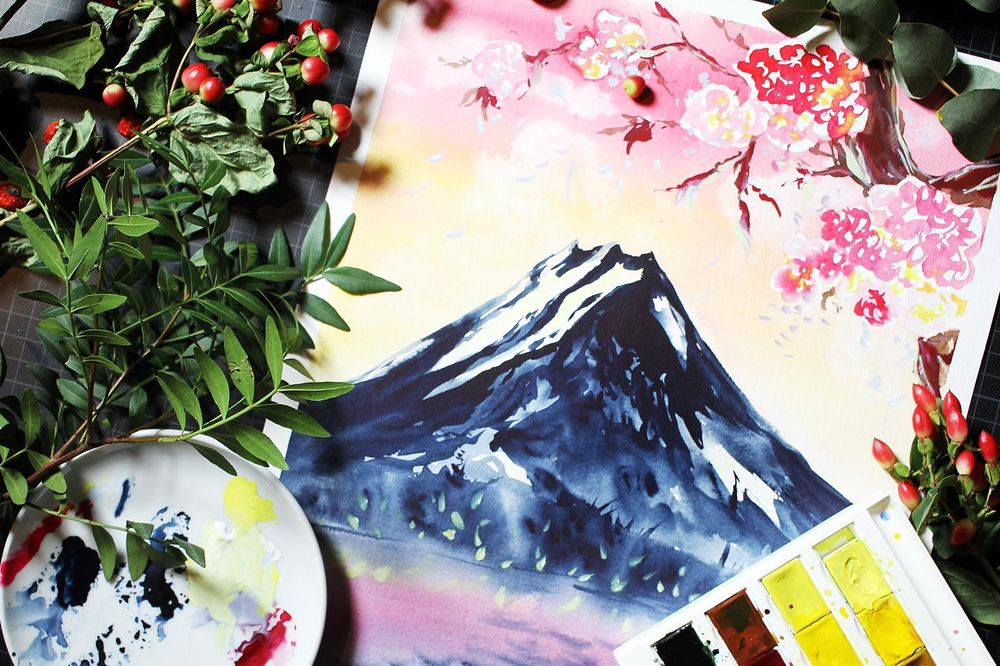 Dreamy Watercolors - image 8 - student project