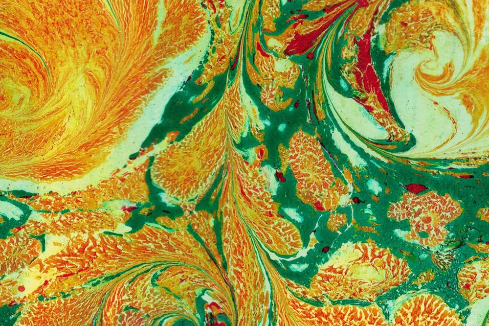 Paper Marbling Magic - image 5 - student project