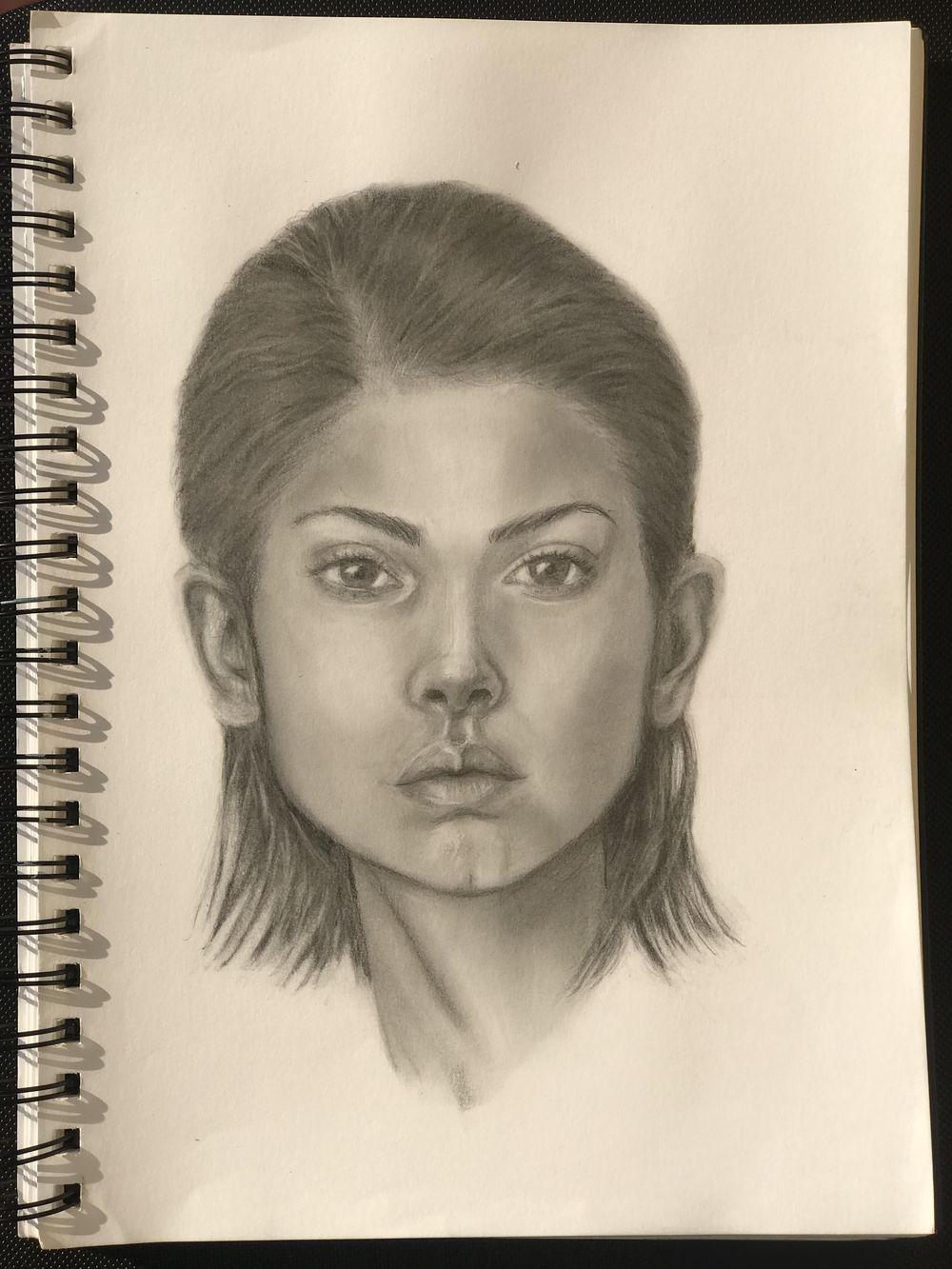 Model Portrait Study - image 1 - student project