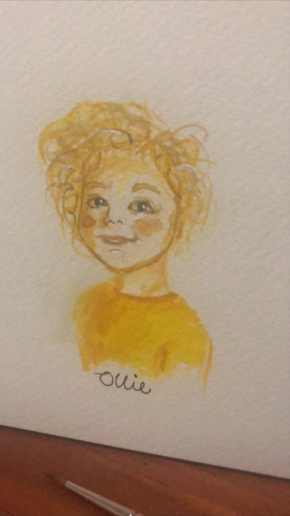 Little faces - Portrait of my son - image 1 - student project