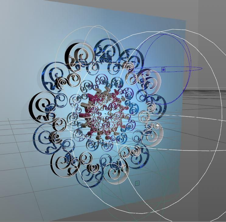 Floral Design in Cinema4d - image 2 - student project