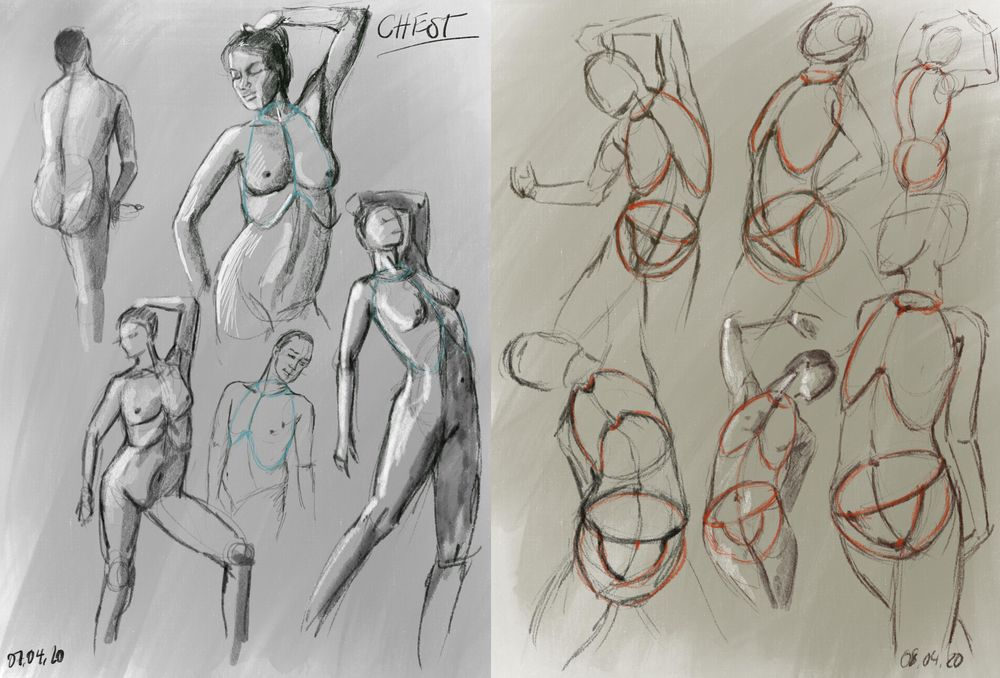"""Sketches of """"Volume and Structure"""" - image 2 - student project"""