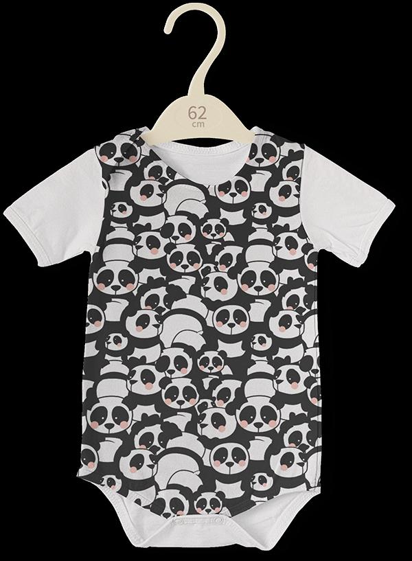 Pandamonium fabric pattern - image 6 - student project