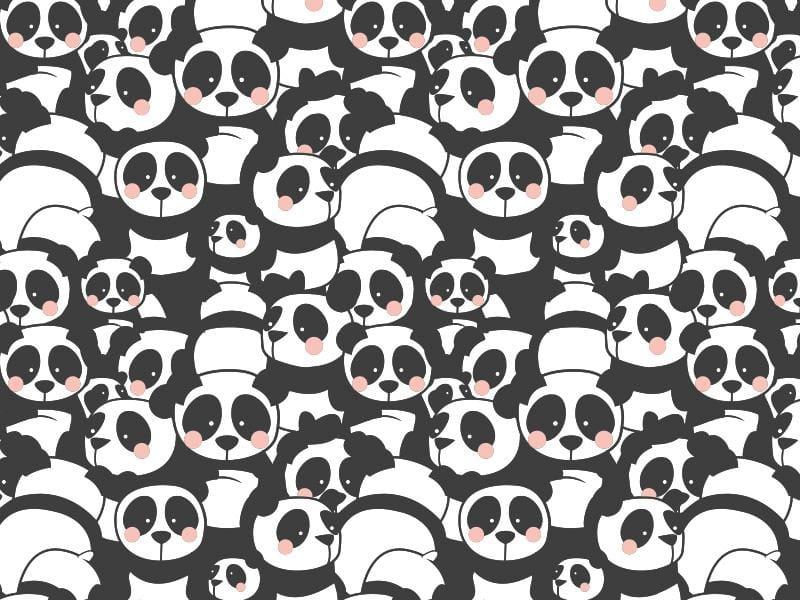 Pandamonium fabric pattern - image 4 - student project