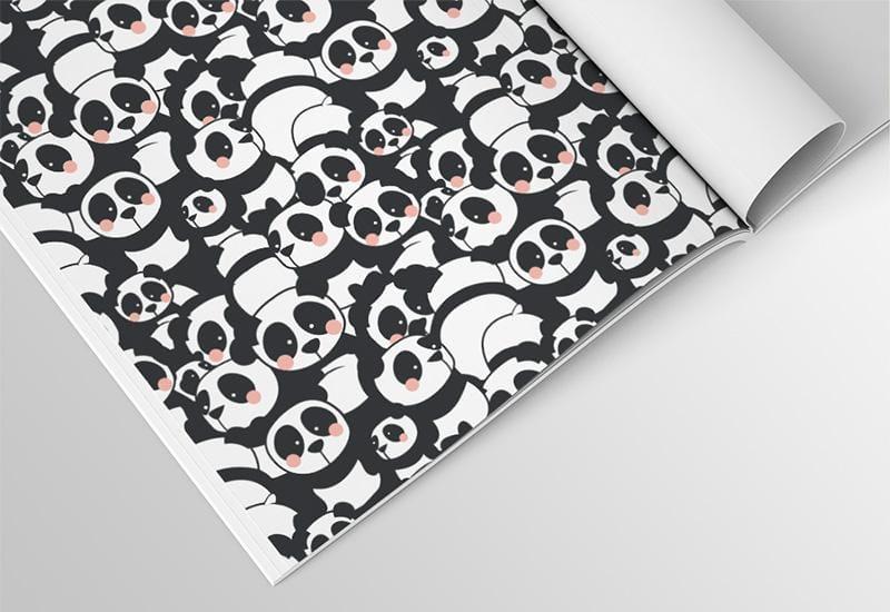 Pandamonium fabric pattern - image 7 - student project