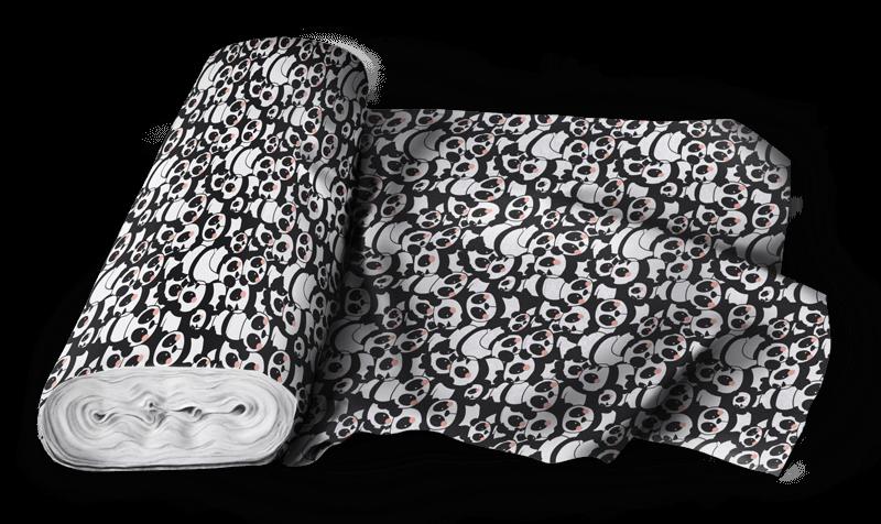 Pandamonium fabric pattern - image 5 - student project