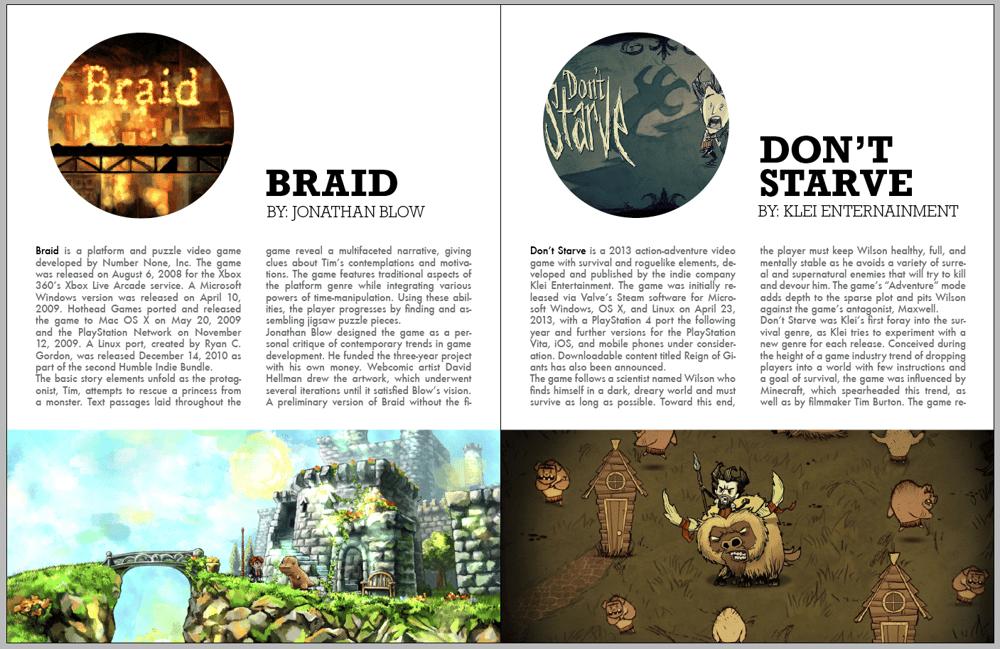 Indigo | Independent Videogames Magazine - image 3 - student project