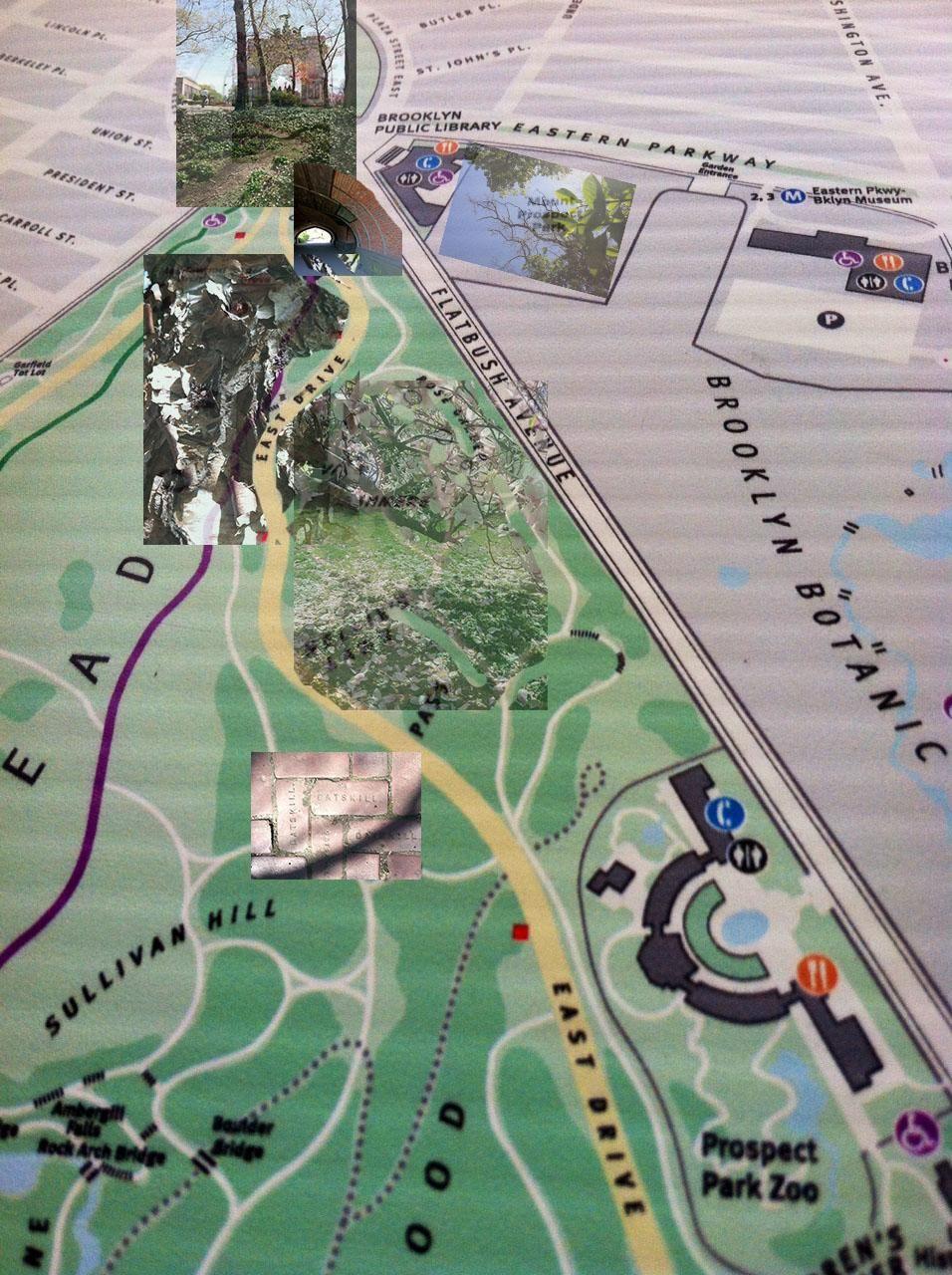 Sense Map of Secret places in Prospect Park  - image 1 - student project
