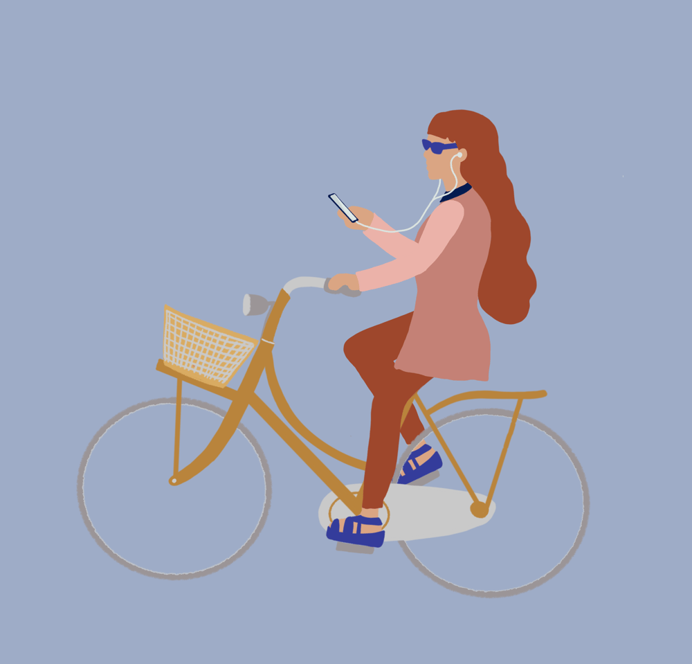 Phoning while Biking.. - image 2 - student project