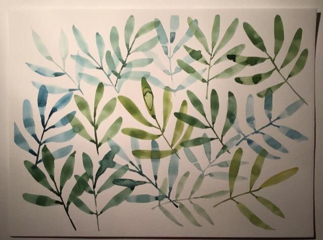 Florals and leaves - image 3 - student project
