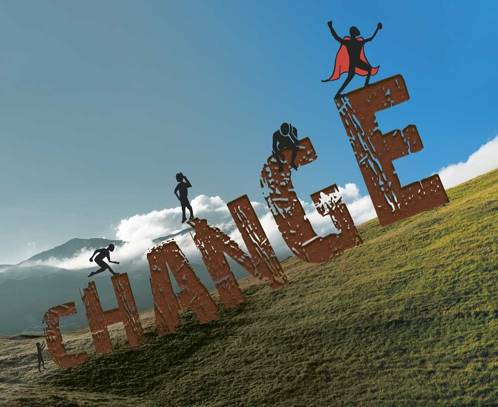 Change - image 1 - student project