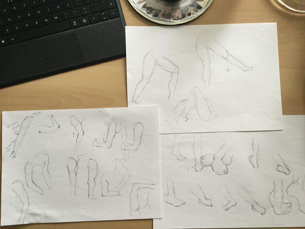 Gesture drawing - image 6 - student project