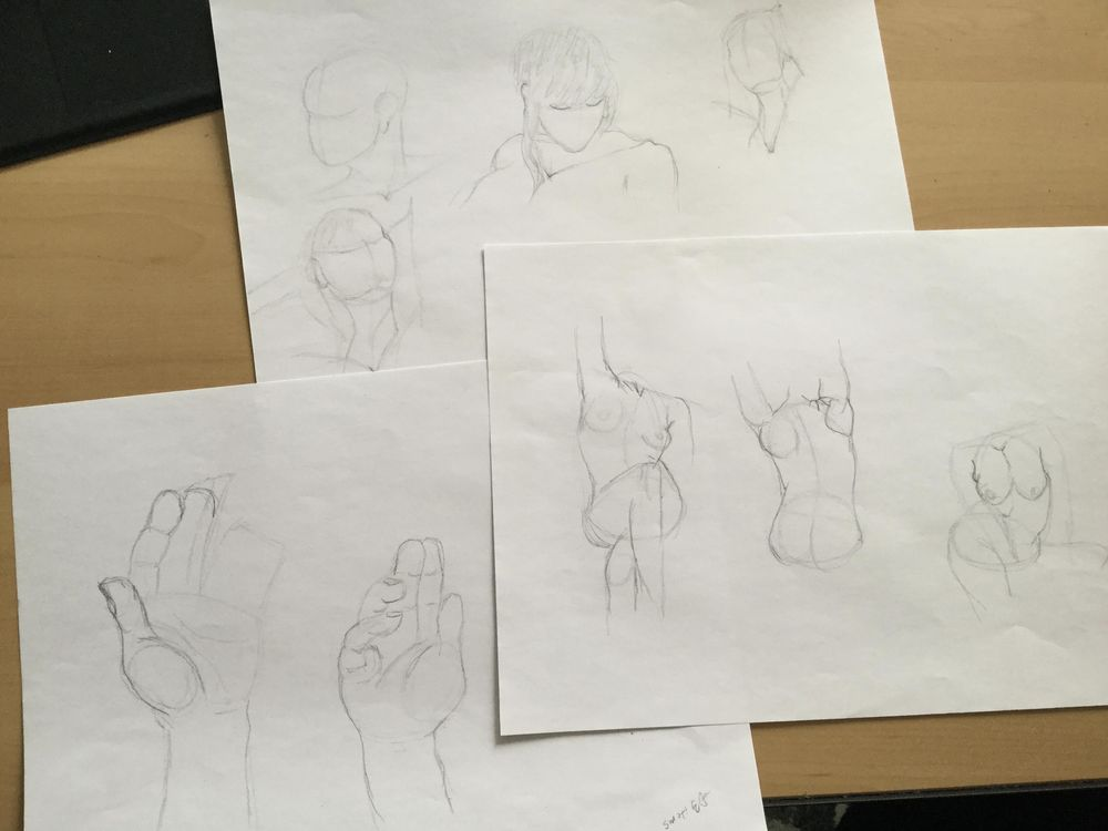 Gesture drawing - image 5 - student project