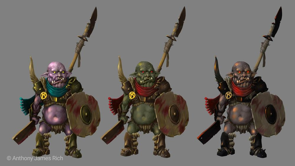 Glubtok, Goblin Veteran - image 2 - student project