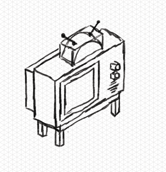 Isometric TV - image 1 - student project
