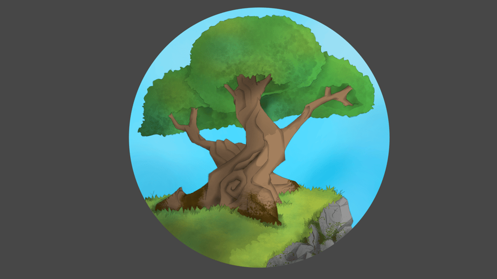 Beginner Krita course projects - image 2 - student project
