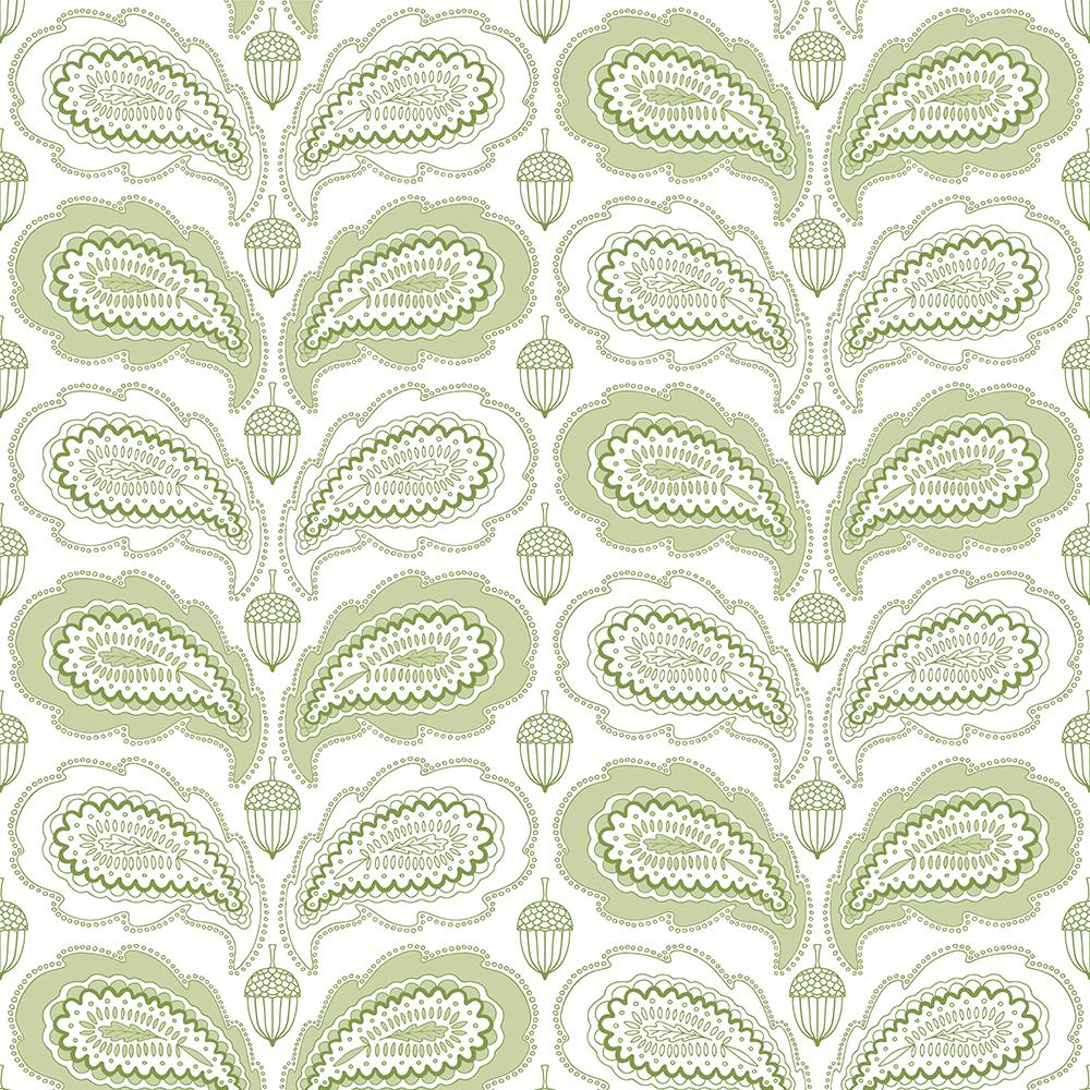 Paisley oak leaf - image 3 - student project