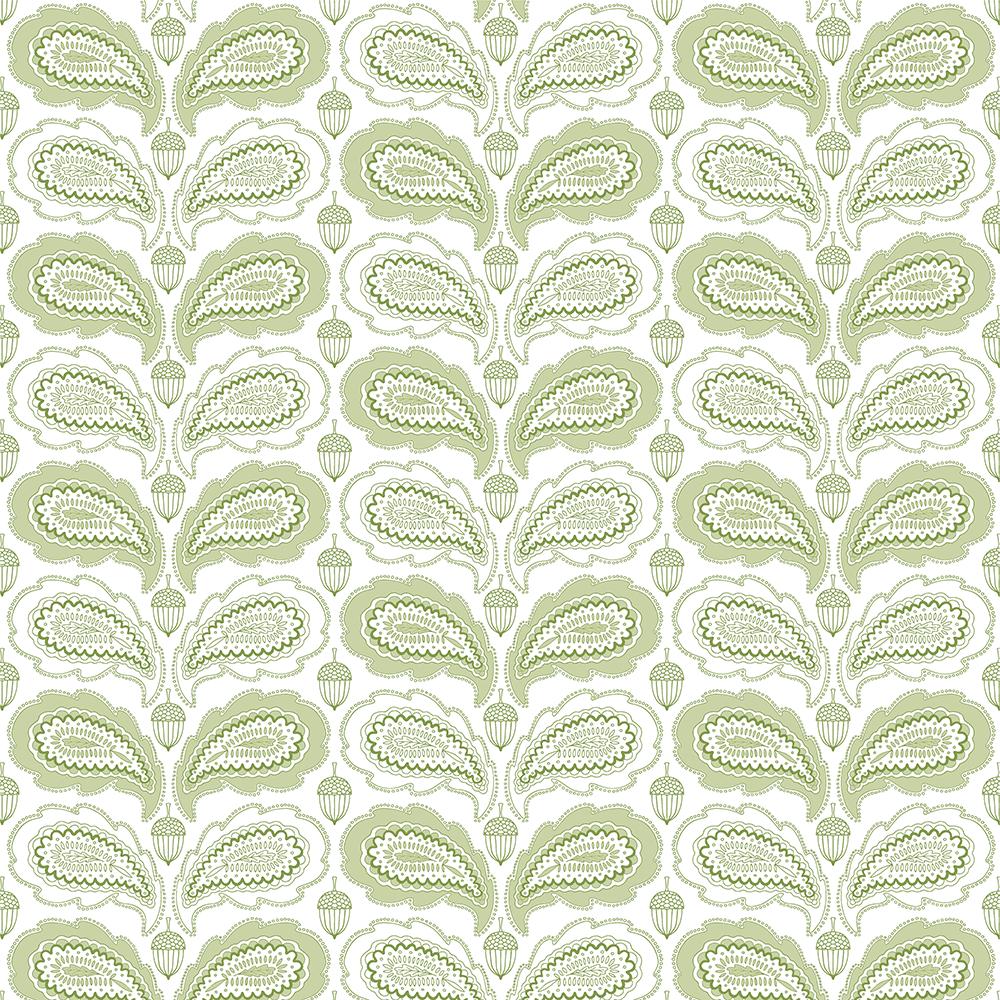 Paisley oak leaf - image 1 - student project