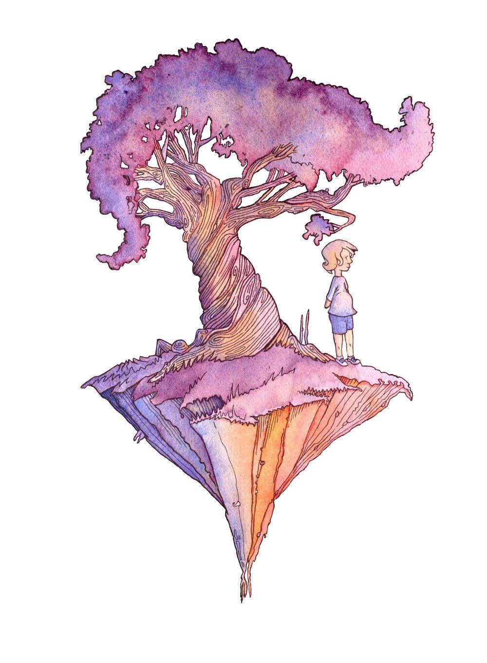 Island Tree - image 1 - student project