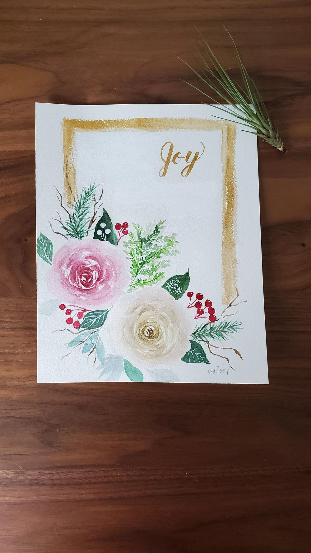 Christmas florals - image 1 - student project