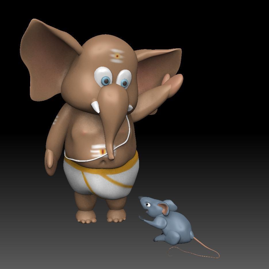 Chibi Ganesh - image 1 - student project