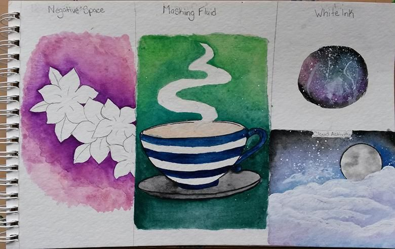 Watercolor Fun - image 1 - student project