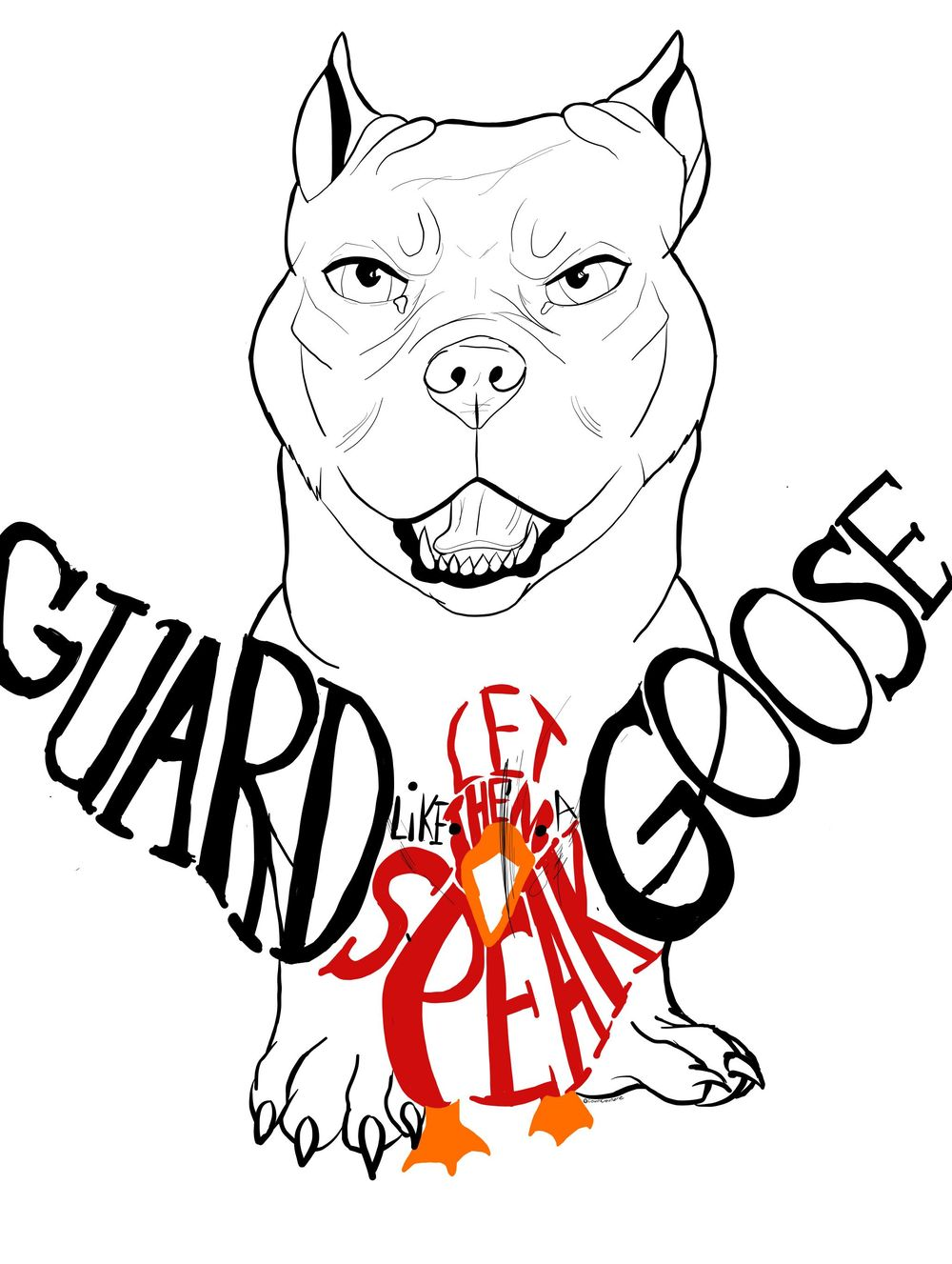 Goose Guarding - image 1 - student project