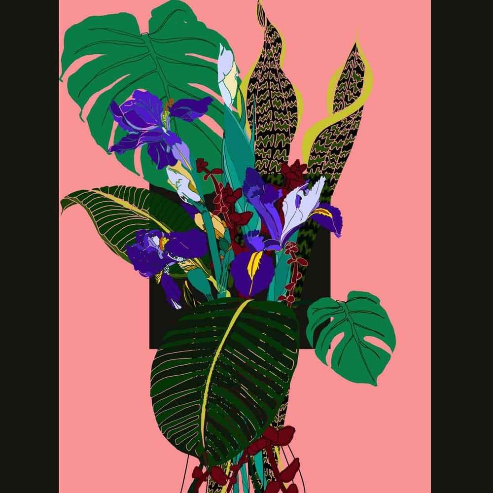 digital bouquet - image 1 - student project