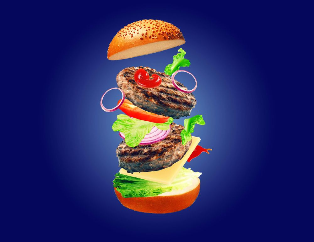 The Burger Ad - image 2 - student project