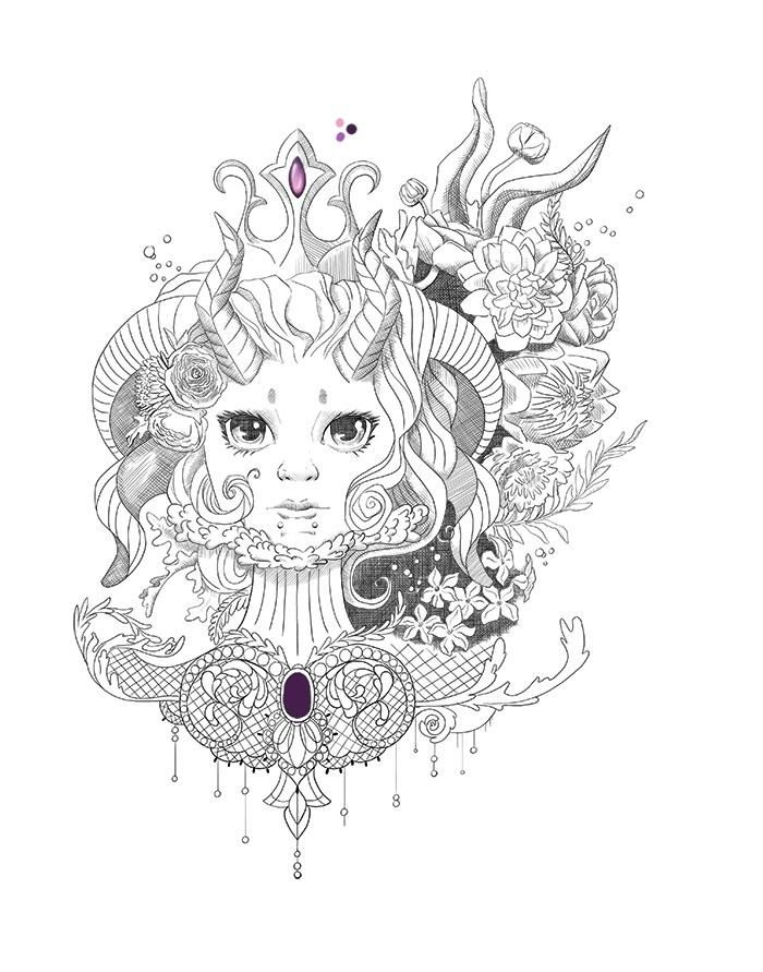 Doodle to Tattoo - image 3 - student project
