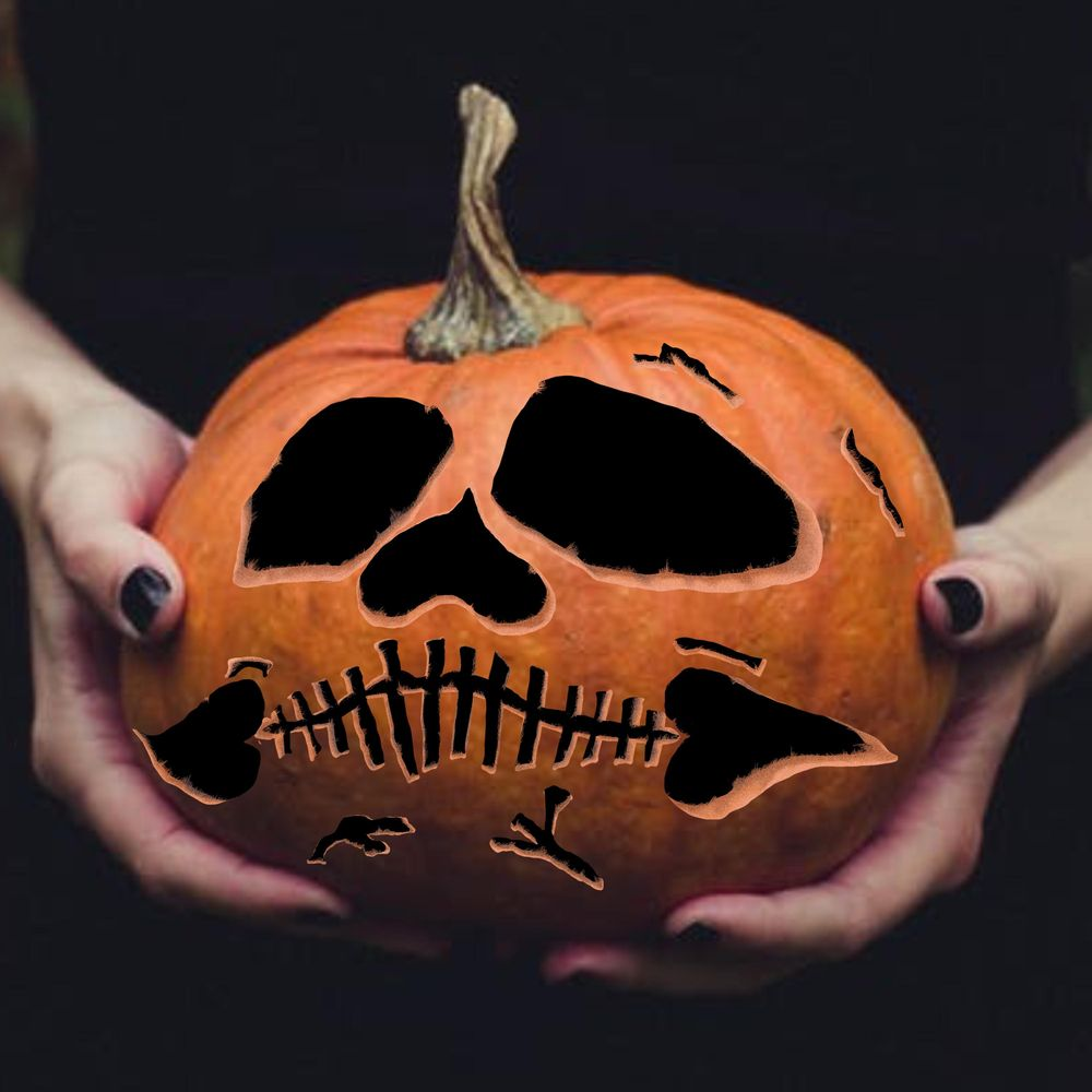 Carved Pumpkin - image 1 - student project