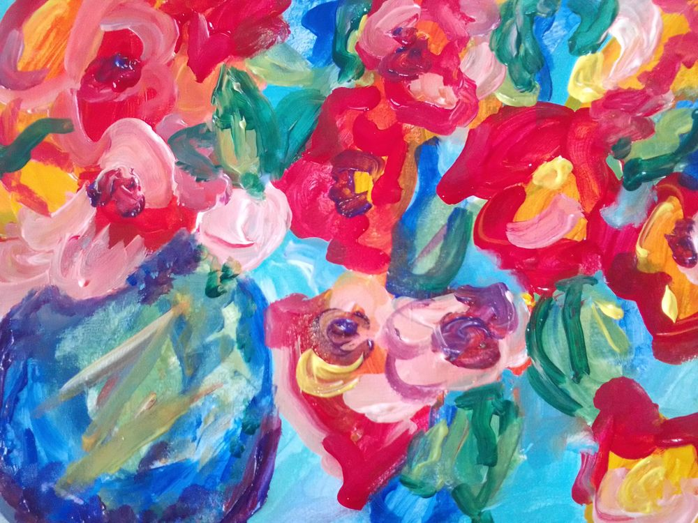 EXCELLENT FUN FLOWERS. - image 1 - student project