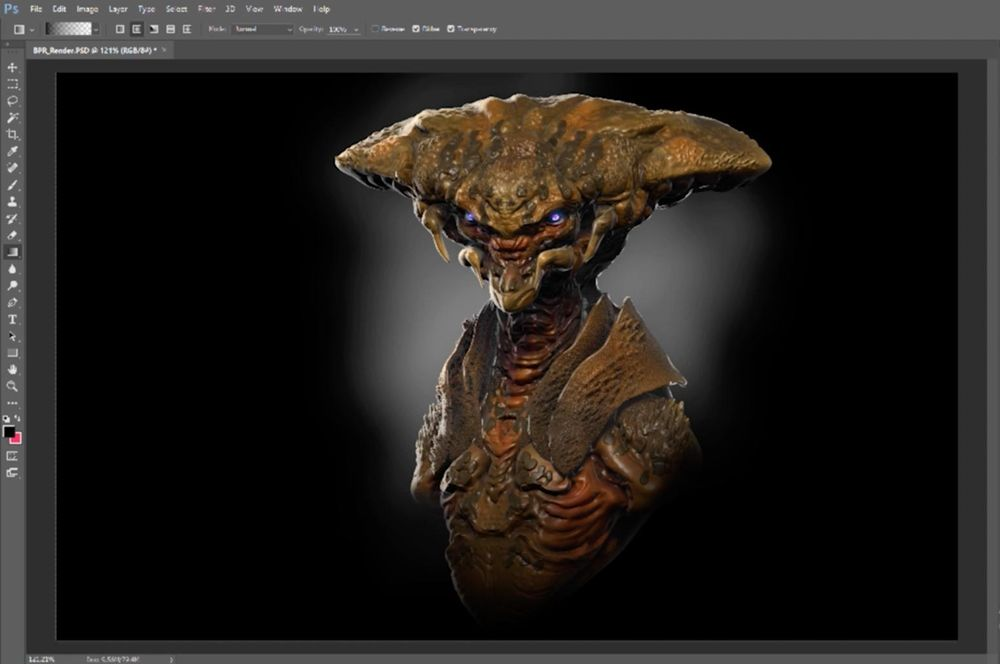 Example Creature - image 13 - student project