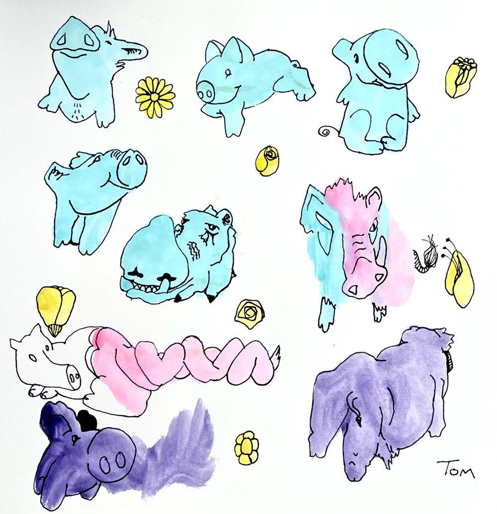 Animal illustrations - image 5 - student project