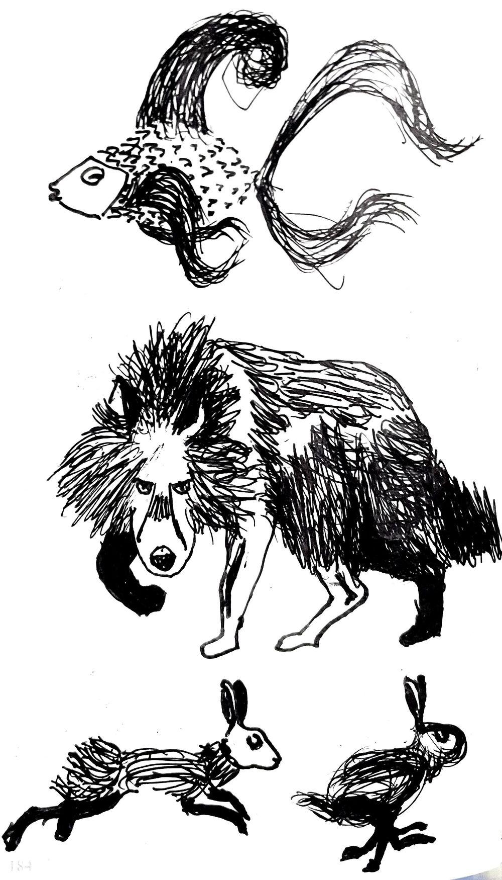 Animal illustrations - image 4 - student project