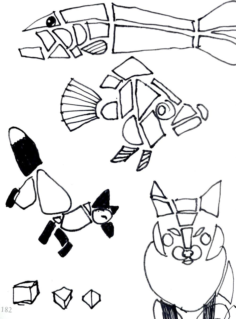 Animal illustrations - image 3 - student project