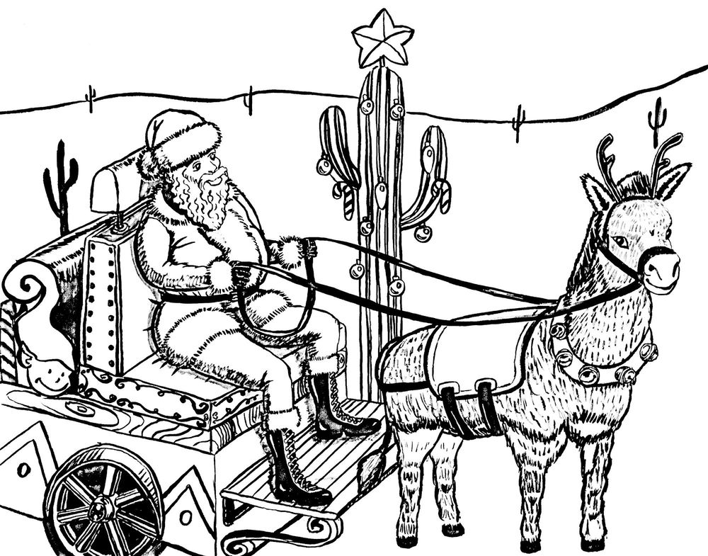 Southwest Santa Sleigh Ride - image 1 - student project