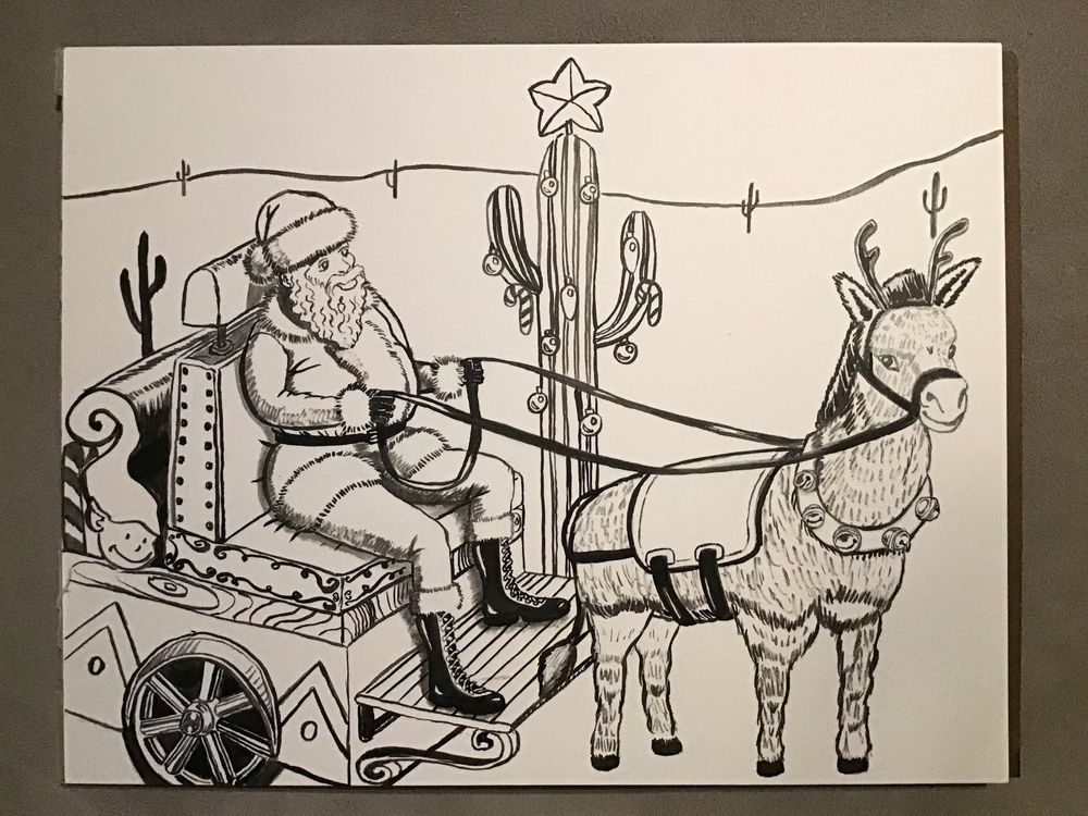 Southwest Santa Sleigh Ride - image 2 - student project