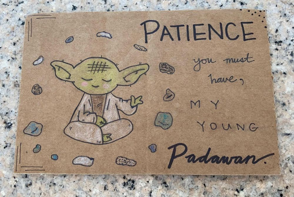 Greetings from Yoda (and others) - image 2 - student project