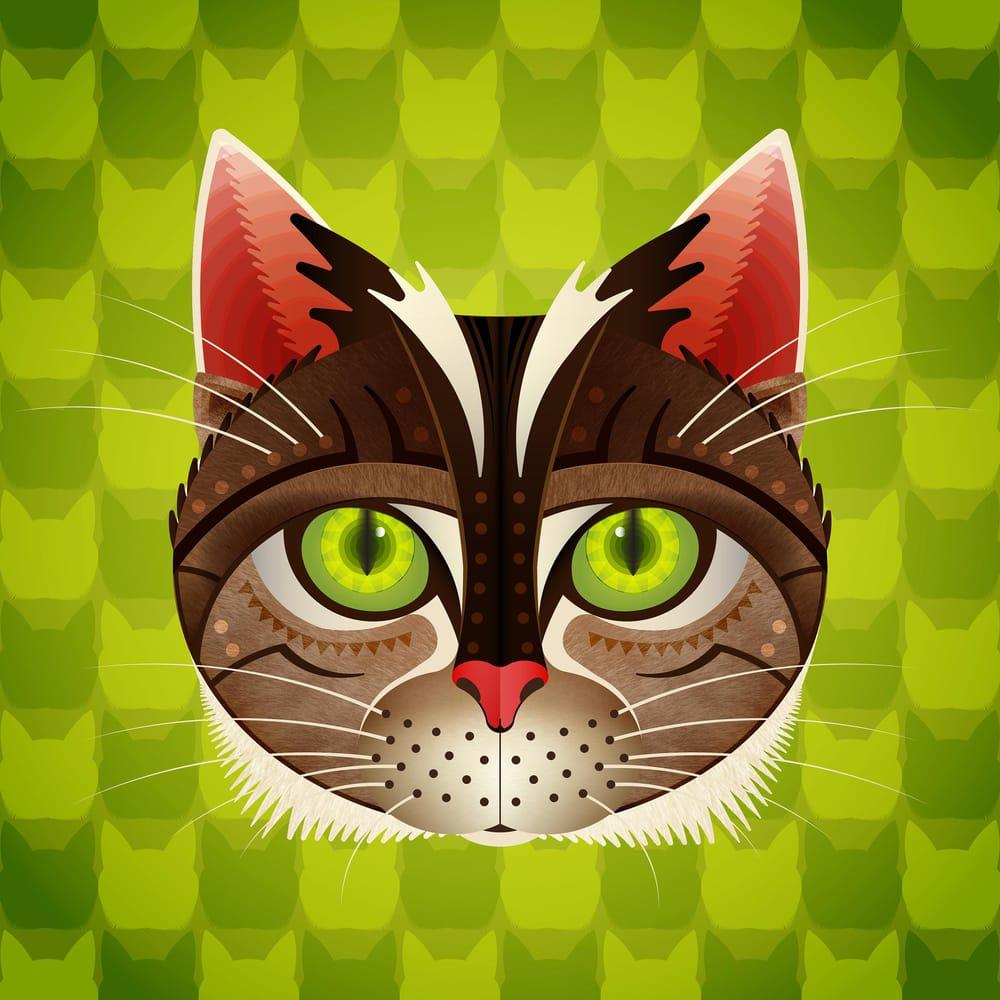 Geometric Sherlock The Cat - image 4 - student project