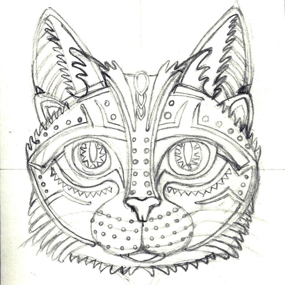 Geometric Sherlock The Cat - image 2 - student project