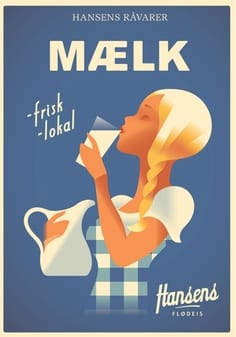 Milk Poster - image 1 - student project